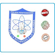 Adesivo o Vetrofania Polizia Penitenziaria Sicurezza Vigilanza cm 7.00x10.00 Art.PP-T-A2