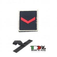Gradi Tuta Ordine Pubblico con Velcro Ricamato Polizia Penitenziaria Agente Scelto Art.PP-OP1