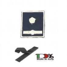Gradi Tuta Ordine Pubblico con Velcro Ricamato Polizia Penitenziaria  Ispettore Superiore  Art.PP-OP11