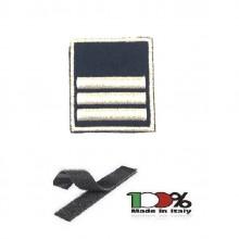 Gradi Tuta Ordine Pubblico con Velcro Ricamato Polizia Penitenziaria Sovraintendente Capo Art.PP-OP14