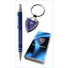 Confezione Regalo Set Penna + Porta Chiavi Polizia Stradale Art.PT831