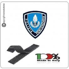 Scudetto Plastificato Scritta Patch Polizia Penitenziaria per Tuta OP Art.NSD-PP16