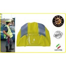 Copri Berretto Copriberretto Alta Visibilità Giallo Polizia Carabinieri Vigilanza Vega Holster Italia Art.4AV00