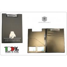 Porta block-notes il Primo Realizzato per GPG-IPS G.P.G - I.P.S PANTERA® Guardie Giurate Inacricata di Pubblico Sevizio Art.BN-PANTERA
