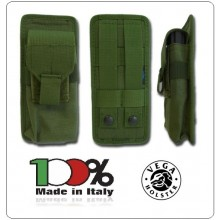 Porta Caricatore Doppio per Pistola in Cordura Vega Holster Art.2SM12