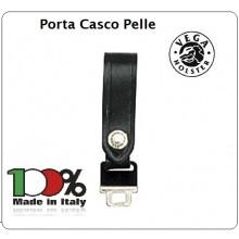 Porta Uboot Pelle Nera o Bianca Porta Casco Vega Holster Italia Art.1V11