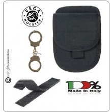 Porta Manette Con Velcro Cordura Vega Holster Italia Art.2VS25