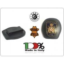 Placca Da Cintura in Cuoio con Placca Metallo Croce Rossa Militare  Vega Holster Italia Art.1WACRIM