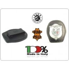 """Porta Placca da Cintura + Placca  """"Guardia Particolare Giurata - Incaricato di Pubblico Servizio"""" ® GPG IPS Art.GPG12"""