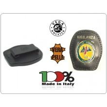 Placca Da Cintura con Placca Metallo Vigilanza Antincendio Boschiva Vega Holster Italia Art.1WA96