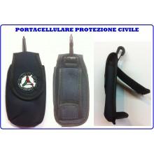 Portacellulare I-Pone 4 4S 5  Blu Tessuto Protezione Civile Nazionale Art.PC-4-4S-5