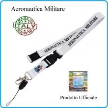 Portapass Portachiavi a Nastro Aeronautica Militare  Prodotto Ufficiale Originale Art.AM0112