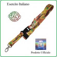 Portapass Portachiavi a Nastro Esercito Italiano Prodotto Ufficiale Originale Art.EI0212