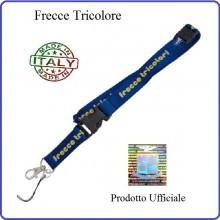 Portapass Portachiavi a Nastro Frecce Tricolore Prodotto Ufficiale Originale Art.FT0115