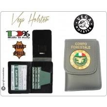 Portafoglio Portadocumenti con Placca Corpo Forestale dello Stato Vega Holster Italia Art.1WD14