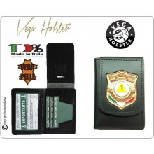Portafoglio Portadocumenti con Placca Misericordia D'Italia EMERGENCY New Vega Holster Italia  Art.1WD135