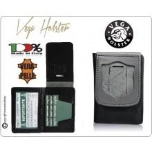 Portafoglio Portadocumenti Senza Placca PS Polizia di Stato LIBERA VENDITA Vega Holster Italia New Art.1WD86