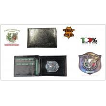 Portafoglio Pelle Portadocumenti GPG IPS Guardie Particolari Giurate Modello Aquila Plus Extra Ascot Italia Art.560GPGIPS