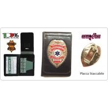 Portafoglio Portadocumenti 118 Soccorso Sanitario Staff Ascot Italia New Art.600PP-SS