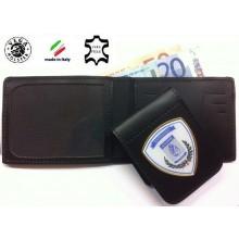 Portafoglio con Placca Estraibile A.N.P.PE.  Vega Holster Italia  Art.1WEANPPE