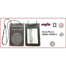 Porta Placca Portaplacca da Collo per Vigili del Fuoco VVFF Operativi SENZA PLACCA LIBERA VENDITA Ascot Italia Art.602VV