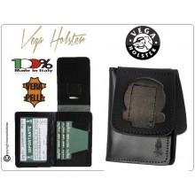 Portafoglio Portadocumenti per Placca Guardia di Finanza Patella Fissa Vega Holster Italia LIBERA VENDITA Art.1WD99