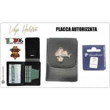 Portafoglio con Placca Carabinieri CC Vega Holster con Placca Giemme CC Fiamma Art.1WD-CC-FIAMMA