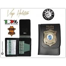 Portafoglio Portadocumenti Polizia Locale Vega Holser Italia  Art.1WD113