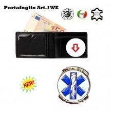 Portafoglio con Placca Estraibile Pubblica Assistenza Vega Holster Art.1WE51