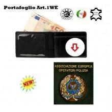 Portafoglio con Placca Estraibile A.E.O.P. Vega Holster Art.1WE122