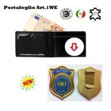 Portafoglio con Placca Estraibile AEOP Vega Holster  Art.1WEAEOP