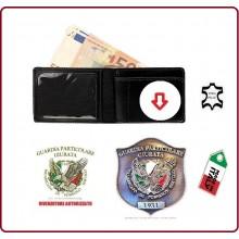 Portafoglio Portadocumenti con Placca Estraibile Guardia Particolare Giurata GPG IPS  Vega Holster  Art.1WEGPGIPS