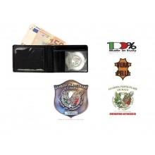 Portafoglio Portadocumenti con Placca Estraibile Guardia Particolare Giurata GPG IPS  Vega Holster  Art. 1WEGPGIPS
