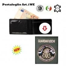 Portafoglio con Placca Estraibile Corpo Nazionale Guardiafuochi Art.1WE121