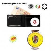 Portafoglio con Placca Estraibile Misericordia Vega Holster Art.1WE59
