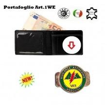 Portafoglio con Placca Estraibile V.A.B. Vega Holster Art.1WE96