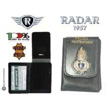 Portadocumenti e Carte di Credito con Placca Metallo Polizia Penitenziaria FINE SERIE  Radar1957 Italia Art. 4070-4010