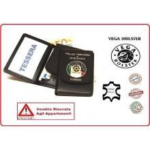 Portafoglio Portadocumenti con Placca Ministero Finanze Dogane VENDITA RISERVATA Vega Holster Italia Art.1WD33