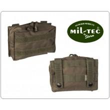 Tasca Utility Softair MOLLE Small OD Contiene Kit Primo Soccorso Garze ecc MILTEC Art.13487001