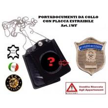 Portatessera e Portaplacca da Collo Polizia di Stato Vega Holster Art.1W102