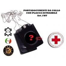 Portatessera e Portaplacca da Collo Croce Rossa Italiana Vega Holster Art.1WF08