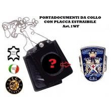 Portatessera e Portaplacca da Collo Croce Rossa Militare Vega Holster Art.1WF52