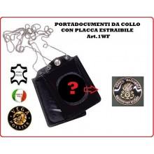 Portatessera e Portaplacca da Collo Guardiafuochi Vega Holster Italia  Art.1WF121