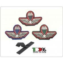 Patch Toppa Sagomata Brevetto Paracadutista Militare per Tuta operativa Carabinieri  Art.NSD-CCP
