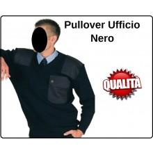 Pullover Maglione Ufficio Collo a V Nero Marina Security Vigilanza  Art.131335