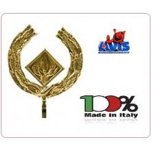 Lancia Puntale Ottone per Aste Portabandiera AVIS Art.BRK-AVIS