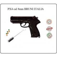 Pistola a Salve Scacciacani 8 mm PX4 Nera Bruni Prodotto Italiano Art.RP000004