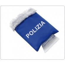 Guanto Raschia Ghiaccio in Plastica Polizia di Stato PS Idea Regalo Art.PT317
