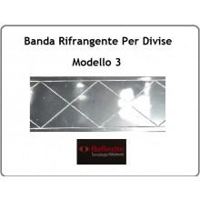 Nastro Rifrangente Reflexite GP 340 per Misericordia Soccorso Sanitario Modello 3 Art.SS-REF-GP340