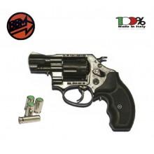 Pistola a Salve Revolver Olimpic 2 Calibro 380 Nera Bruni Art. BR-450